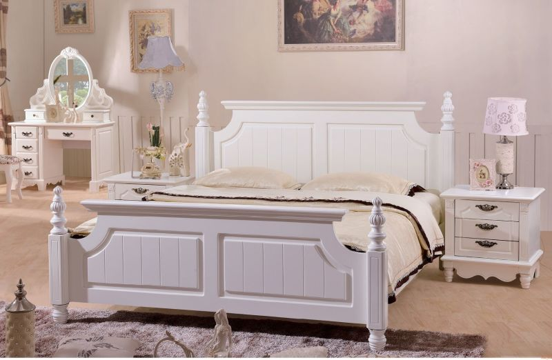 Bed frame+bed box 1105#(king size)